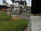 Memorial stones have been erected at the Pakenham cenotaph to honour Australian servicemen post World War II. Picture: ALANA MITCHELSON.